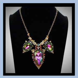 Jewelry - NEW!  IRIDESCENT POINTS OF BEAUTY SWEATER NECKLACE
